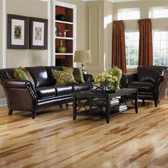hickory flooring in kitchen | Hickory Hardwood Floors | Hickory | Hardwood | Wood | Floors| Install
