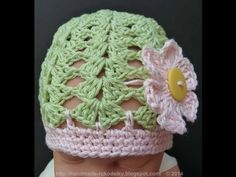 CROCHET ALONG - Baby Hat For 3+ Months Old (Video Tutorial)