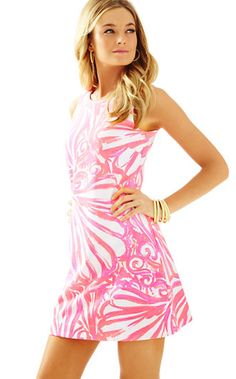 Lilly Pulitzer Callie Sleeveless Shift Dress
