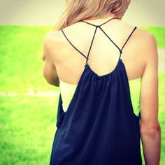DIY Strappy Summer Dress From Tshirt   Trash To Couture