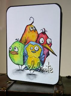 Crazy Birds/ Tim Holtz