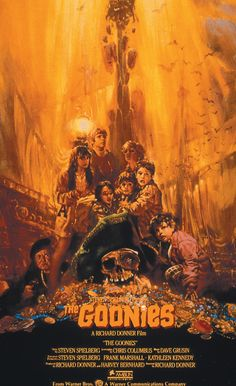 The Goonies movie poster by Noriyoshi Ohrai - Today, We Lost a Great Japanese Illustrator