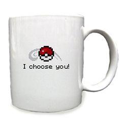 I Choose You Pokemon 11 Oz Ceramic Cup Mug RTR MG http://www.amazon.com/dp/B00V7R4JDY/ref=cm_sw_r_pi_dp_imJvvb0FPFDFK