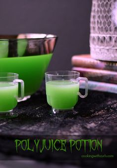 Polyjuice Potion - perfect for Halloween and Harry Potter parties! #halloween #partydrinks #harrypotter