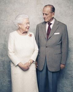 A few more photos released of Queen Elizabeth II and The Duke of Edinburgh ahead of their 70th Wedding Anniversary