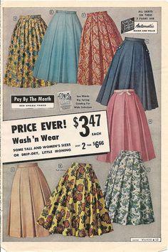 #skirt #vintage #dress #retro #fashion #1950s