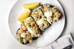 Crab Toast with Lemon Aioli