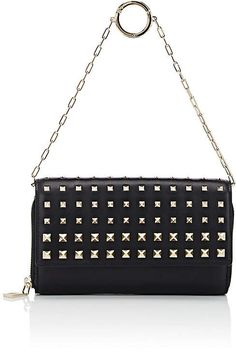 a0b0027fb1931 Valentino Garavani Women s Carry Secrets Leather Chain Wallet