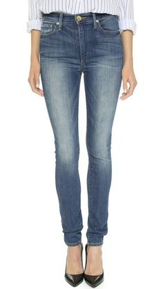 High-Waisted Skinny Jeans: The Best Pairs to Buy Now | StyleCaster