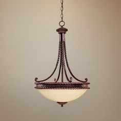 """Highlands Collection 30"""" High Pendant Chandelier -"""