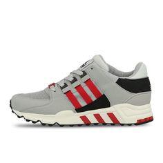 new product 4b83f 5156b Adidas EQT Running SUPPORT VINTAGE TORO B40400 Grey Black Red Mens Womans  Adidas Nmd