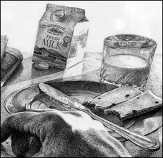 High School Art Project Idea: Breakfast, lunch or dinner pencil drawings Drawing Projects, Drawing Lessons, Art Lessons, Teaching Drawing, Teaching Art, Amazing Drawings, Realistic Drawings, Middle School Art, Art School