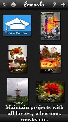 Leonardo app for iPhone