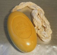 Old Spice soap on a rope - a regular Christmas present for my Dad!