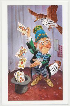 The Magic Gnomes The Card Handler Fantasy   eBay