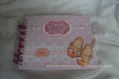 Sonia Cirino Atelier: Livro do Bebê Menina