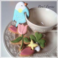 hanging bird cookie