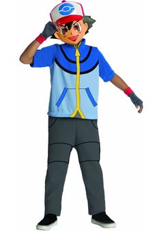 Ash Pokemon Childs Costume - General Kids Costumes at Escapade™ UK - Escapade Fancy Dress on Twitter: @Escapade_UK