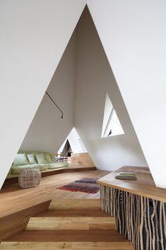 Nasu Tepee House Interior by Hiroshi Nakamura & NAP, Japan