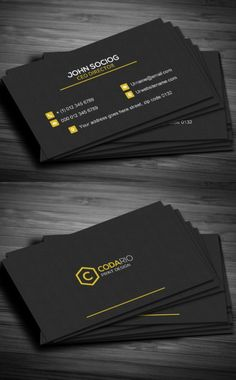51 New Professional Business Card PSD Templates Construction Business Card - Graphic Templates Search Engine Examples Of Business Cards, Company Business Cards, Business Card Maker, Make Business Cards, Professional Business Card Design, Business Card Psd, Modern Business Cards, Business Design, Corporate Design