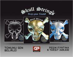 Drop A, B, C, D, baritone ve standard çeşitleriyle Skull Strings ailemizin en yeni üyesi. http://www.gitarpazar.com/skull-strings