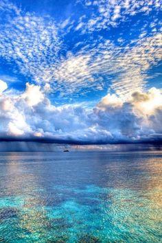 The sky & the sea