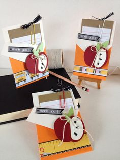 Teacher thank you card. Teacher appreciation by CallMeCraftie Teacher Appreciation Cards, Teacher Thank You Cards, Teacher Christmas Gifts, Teacher Gifts, Scrapbook Cover, Vinyl Gifts, Scrapbooking, Cricut Cards, Paper Cards
