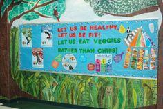 Healthy Eating Bulletin Board
