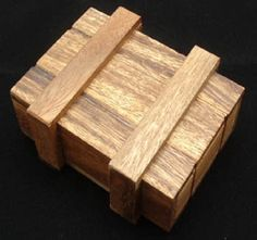 "A classic Puzzle Box destined for Escape Rooms. This puzzle box or ""magic box"" requires a precise grip to open. Over analyzing will surely lead to failure as it appears much more challenging than it a"