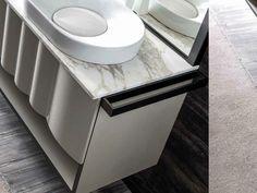 Contemporary style metal towel rack QUADRA | Towel rack - CorteZari