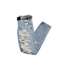 Los elegidos ❤ liked on Polyvore featuring jeans, pants, bottoms and pantalones