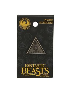 Fantastic Beasts And Where To Find Them MACUSA Pewter Pin,