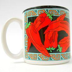 Chilis Chili Pepper Coffee Mug Black Inside Rim Green Border Red Vintage 1993 Potpourri Press http://www.amazon.com/dp/B00XWY79GY/ref=cm_sw_r_pi_dp_Gw9wvb00H5C5Q