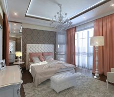30+ Wonderful Modern Art Deco Bedroom Inspirations
