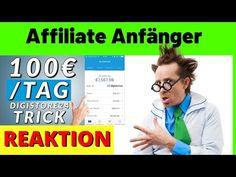100€ am Tag als Affiliate Anfänger mit Digistore 24 Anleitung | Geld verdienen [Michael Reagiertauf] - YouTube