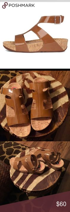 Fitflops Patent leather sandals✨✨ Unique brand new Birkenstock styled new without box sad all will list as BS for exposure great quality✨✨ Birkenstocks Shoes Sandals