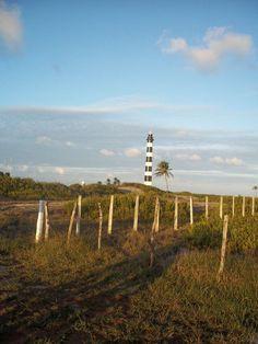 farou de Touros/RN: inicio da BR-101, que segue pelo litoral brasileiro até o Rio Grande do Sul