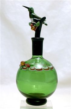 Chris and Alexandra Pantos Humming Bird Perfume Bottle