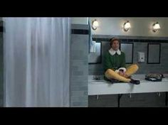 """One of the sweetest moments from one of the Best Christmas Movies = )  Weird to know that fall 2013 marks its 10 year anniversay. Crazy. """"ELF"""""""