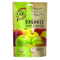 Go Organic Hard Candy - Apple - 3.5 Oz - Case Of 6