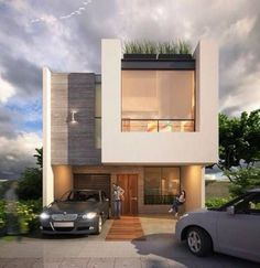 7 Stupendous Unique Ideas: Contemporary Design Minimal contemporary house with pool. Architecture Design, Residential Architecture, Contemporary Architecture, Contemporary Design, Contemporary Stairs, Contemporary Building, Contemporary Cottage, Indian Architecture, Contemporary Apartment