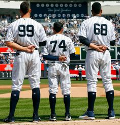 Judge, Torreyes and Betances, all great players