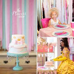 Princess themed birthday parties at The Princess Shop