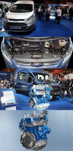 Ford Transit Custom gets EcoBlue Engines Commercial Van, Commercial Vehicle, Transit Custom, Ford Transit, Diesel Engine, Engineering, Model, Scale Model