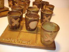 Juego del gato en cerámica gres - Game of the cat in ceramic sandstone