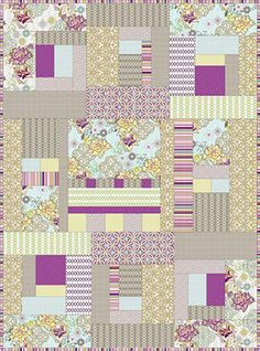 Free Quilt patterns. FabShopHop.com