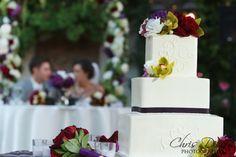 Wedding Cake at Franciscan Gardens