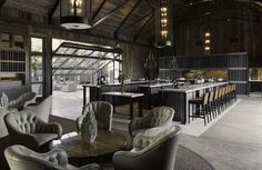 Rams Gate Winery, Sonoma, CA - Howard Braken Architect - Orlando Diaz-Azcuy Interiors