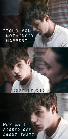 Finn from My Mad Fat Diary