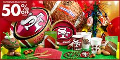 49ers theme party for my husbands bday and possibly a baby shower in the future